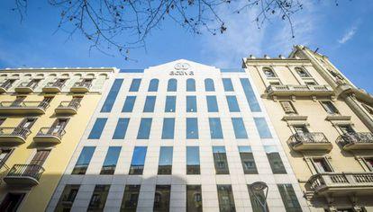 Sede de Activa Mutua en Barcelona, en una imagen de archivo.