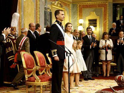 Cuarto aniversario de la proclamación del rey Felipe VI