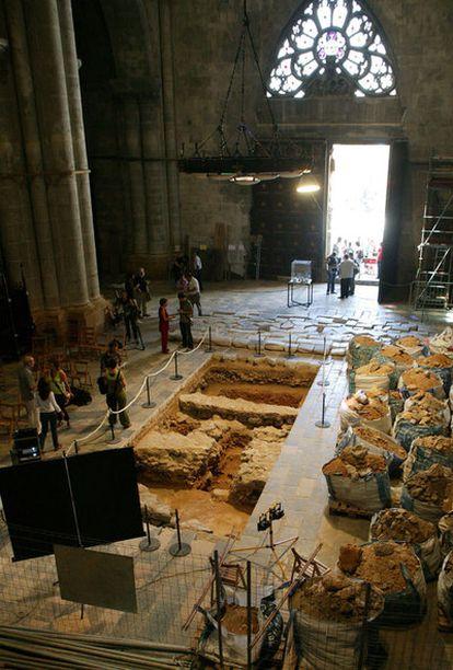 Después de siglos de polémica, han salido a la luz los restos del templo de Augusto, ocultos bajo la catedral de Tarragona