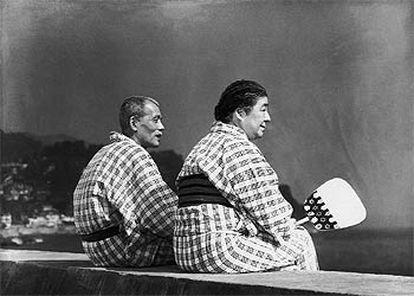Una imagen de <i>Cuentos de Tokio,</i> de Yasujiro Ozu.