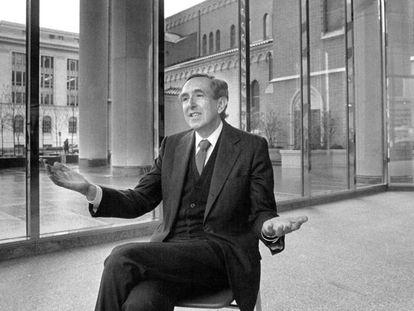 El arquitecto César Pelli, en 1985.