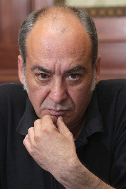 Martin Garitano, en un momento de la entrevista.