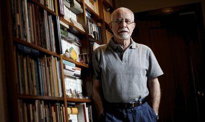 El escritor y académico José María Merino en una imagen de 2012.