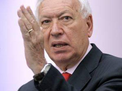 El ministro español de Asuntos Exteriores, Manuel García-Margallo. EFE/Archivo