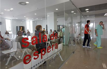 Dependencias del hospital de Elche.