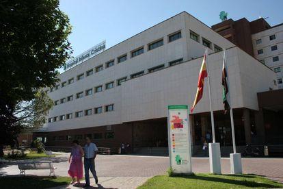 Imagen del Hospital Infanta Cristina en Badajoz.