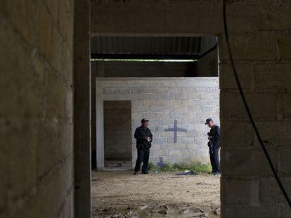 La bodega donde militares ejecutaron a civiles en Tlatlaya.