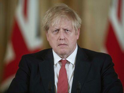 El primer ministro del Reino Unido, Boris Johnson, este viernes
