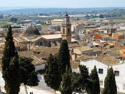 Vista de Navarrés, del twitter del Ayuntamiento de la localidad.