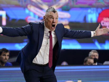 Jasikevicius, en el partido de cuartos ante Unicaja. acbphoto