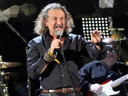 Jose María Cano, en los Grammy Latino celebrados en Las Vegas (Nevada) en noviembre de 2018.