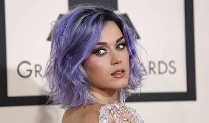 Katy Perry, en los premios Grammy de 2015.