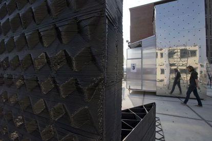 Un proyecto holandés empleará una impresora en 3D para recrear una casa tradicional con vistas a los canales de Ámsterdam.