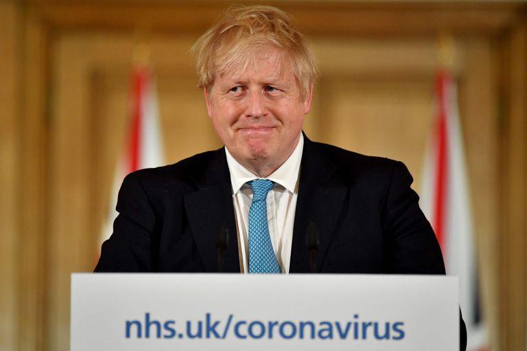 El primer ministro del Reino Unido, Boris Johnson, este jueves en Londres