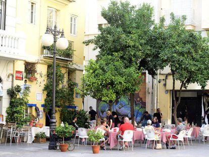 Un restaurante de Valencia.