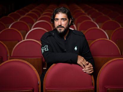 Antonio Orozco, en el Teatro La Latina de Madrid la semana pasada.