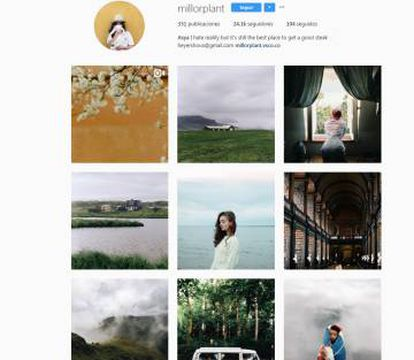 El Instagram de millorplant, una de las particpantes en la iniciativa #GenInstaTakeover.