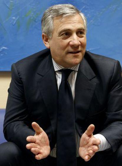El comisario de Industria, Antonio Tajani.