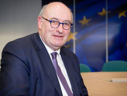El comisario europeo de Comercio, Phil Hogan.