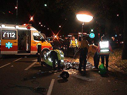 Muere un joven atropellado en Madrid