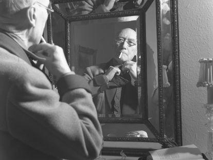 Andre Gide, Neuchatel, 1948.
