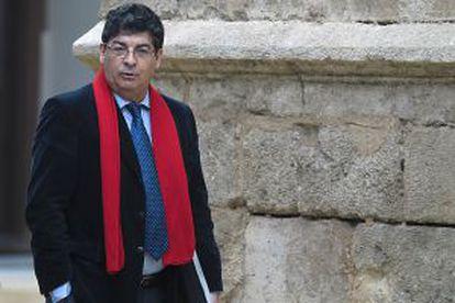 El vicepresidente andaluz, Diego Valderas, el pasado diciembre.