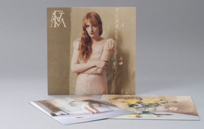 El estudio Perron-Roettinger, formado por Willo Perron y Brian Roettingerlas, ha diseñado las portadas de los discos de The Florence + The Machine.