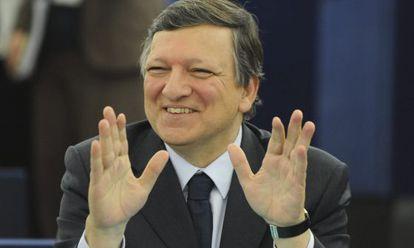 El presidente de la Comisión Europea, José Manuel Durão Barroso.
