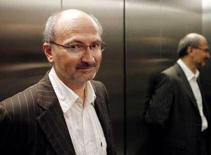 El  director de la redacción de <i>Le Monde</i> Eric Fottorino.