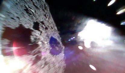 Imagen tomada durante uno de los saltos del 'Minerva 2'.