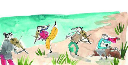 'La playa de los inútiles'.