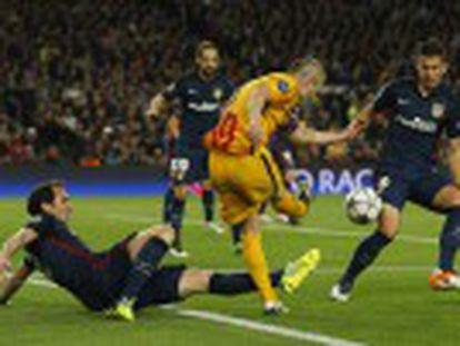 El técnico del Barcelona elogia la actitud y el juego de sus futbolistas en la segunda parte