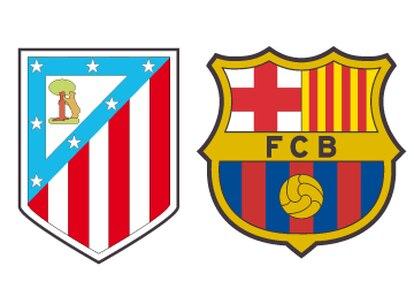 Las cifras del Atlético - Barcelona en Champions