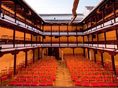 Interior del Corral de Comedias de Almagro.