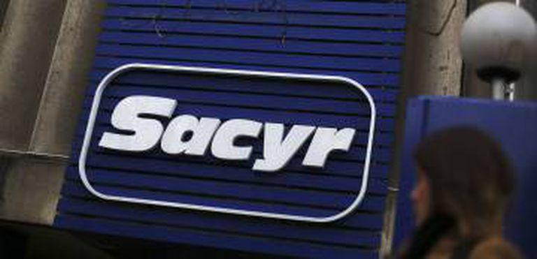 Logotipo de la empresa Sacyr.