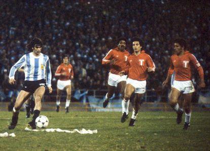 La novela 'La pena máxima' sucede durante el Mundial de 1978.