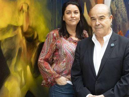 Ana Pérez-Lorente y Antonio Resines, codirectores del documental 'Historias de nuestro cine'. En vídeo, tráiler del documental.