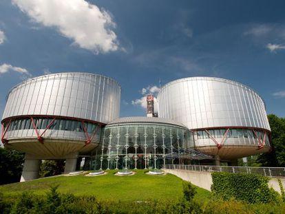 Palacio de Derechos del Hombre, en Estrasburgo.
