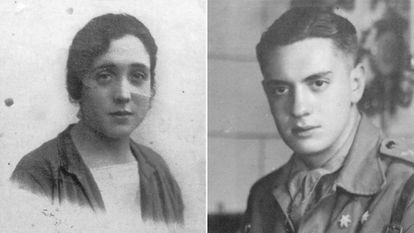 La abuela Presen y el abuelo Pablo de la autora Cristina Fallarás.