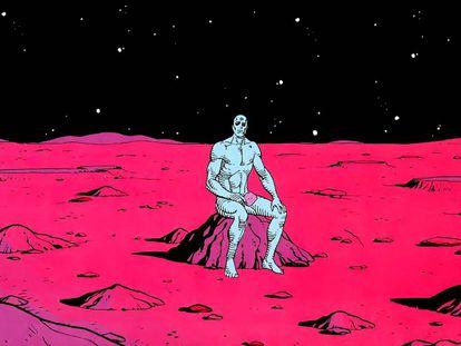 Imagen del 'Watchmen' de Alan Moore.