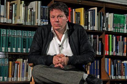 David Graeber, en un debate en Nueva York en 2014
