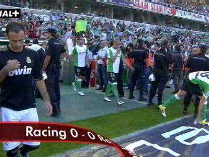 Racing, 0 - Real Madrid, 0