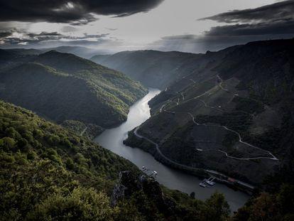 Cañón del río Sil, en la Ribeira Sacra.