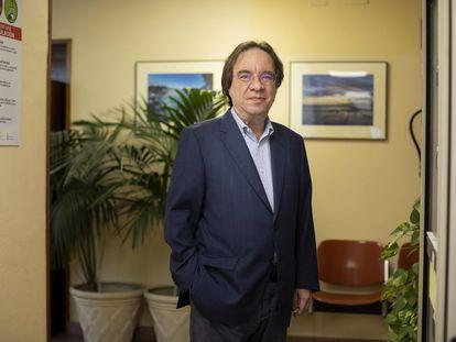 Amós García Rojas, este lunes, en Las Palmas de Gran Canaria.
