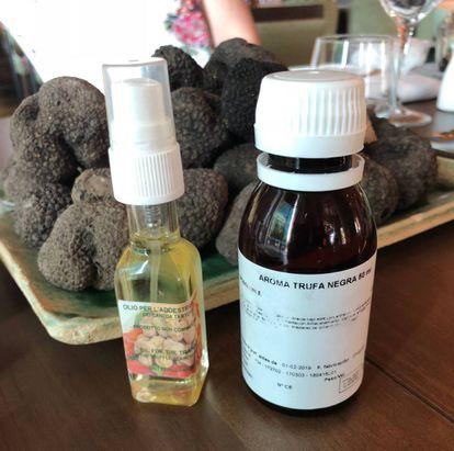 Aromas sintéticos de trufa. J. C. CAPEL