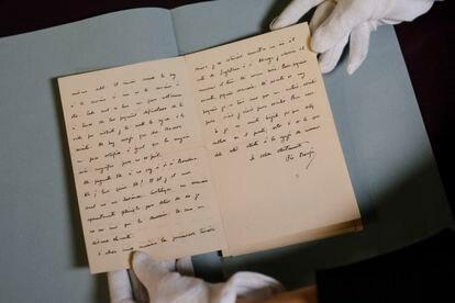 Cartas de Pío Baroja a Ada Martí Vall.