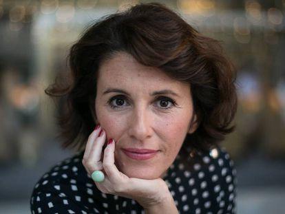 Ayanta Barilli, finalista del 67º premio Planeta, el pasado martes en Barcelona.