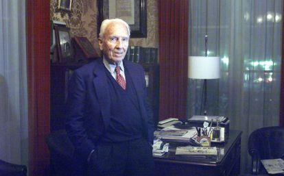 José Luis Milá, conde de Montseny, padre de los periodistas Mercedes y Lorenzo Milá.
