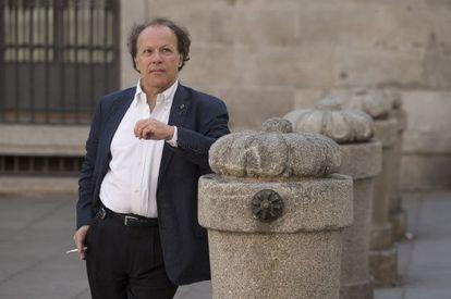 El escritor y académico Javier Marías, este septiembre, en Madrid.