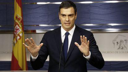 Pedro Sánchez en una imagen de archivo.